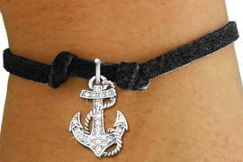 <bR>               EXCLUSIVELY OURS!!<Br>         AN ALLAN ROBIN DESIGN!! <BR>CLICK HERE TO SEE 120+ EXCITING <BR>   CHANGES THAT YOU CAN MAKE!<BR>   LEAD, NICKEL & CADMIUM FREE!! <BR>     W1278SB - DETAILED ANCHOR <BR>CRYSTAL CHARM & CHILDS BRACELET <BR>     FROM $5.40 TO $9.85 �2012