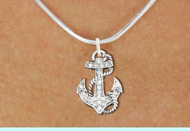 <bR>                  EXCLUSIVELY OURS!!<Br>            AN ALLAN ROBIN DESIGN!!<BR>   CLICK HERE TO SEE 120+ EXCITING<BR>      CHANGES THAT YOU CAN MAKE!<BR>     LEAD, NICKEL & CADMIUM FREE!!<BR>        W1278SN - DETAILED ANCHOR <BR>      CRYSTAL CHARM AND NECKLACE <BR>                     $10.38 EACH  �2012