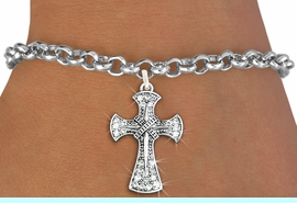 <bR>               EXCLUSIVELY OURS!!<Br>         AN ALLAN ROBIN DESIGN!! <BR>CLICK HERE TO SEE 120+ EXCITING <BR>   CHANGES THAT YOU CAN MAKE!<BR>   LEAD, NICKEL & CADMIUM FREE!! <BR>     W1280SB - BETHLEHEM CROSS <BR>     CRYSTAL CHARM & BRACELET <BR>     FROM $5.40 TO $9.85 �2012
