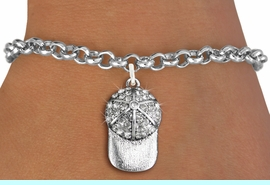 <bR>               EXCLUSIVELY OURS!!<Br>         AN ALLAN ROBIN DESIGN!! <BR>CLICK HERE TO SEE 120+ EXCITING <BR>   CHANGES THAT YOU CAN MAKE!<BR>   LEAD, NICKEL & CADMIUM FREE!! <BR> W1283SB - BRIMMED SPORTS CAP <BR>     CRYSTAL CHARM & BRACELET <BR>     FROM $5.40 TO $9.85 �2012