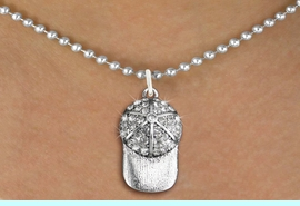 <bR>                  EXCLUSIVELY OURS!!<Br>            AN ALLAN ROBIN DESIGN!!<BR>   CLICK HERE TO SEE 120+ EXCITING<BR>      CHANGES THAT YOU CAN MAKE!<BR>     LEAD, NICKEL & CADMIUM FREE!!<BR> W1283SN - BRIMMED SPORTS CAP <BR>      CRYSTAL CHARM AND NECKLACE <BR>         FROM $5.40 TO $9.85 �2012