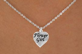"<bR>               EXCLUSIVELY OURS!!<Br>          AN ALLAN ROBIN DESIGN!!<BR>             ADJUSTABLECADMIUM, LEAD, AND NICKEL FREE!!<BR> W651SN3 - ""FLOWER GIRL"" HEART<BR>   AND CABLE CHAIN NECKLACE AS LOW AS $5.65"