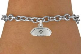 <bR>                 EXCLUSIVELY OURS!!<Br>           AN ALLAN ROBIN DESIGN!!<BR>  CLICK HERE TO SEE 120+ EXCITING<BR>     CHANGES THAT YOU CAN MAKE!<BR>                LEAD & NICKEL FREE!!<BR>     W1032SB - NURSE HAT CHARM &<Br>     BRACELET  FROM $4.50 TO $8.35 �2012