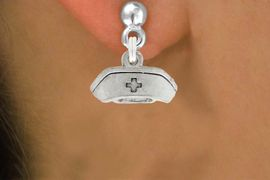<bR>                 EXCLUSIVELY OURS!!<Br>           AN ALLAN ROBIN DESIGN!!<BR>  CLICK HERE TO SEE 120+ EXCITING<BR>     CHANGES THAT YOU CAN MAKE!<BR>                LEAD & NICKEL FREE!!<BR>      W1032SE - NURSE HAT CHARM &<BR>     EARRINGS FROM $4.50 TO $8.35 �2012