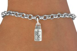 <bR>                   EXCLUSIVELY OURS!!<Br>             AN ALLAN ROBIN DESIGN!!<BR>    CLICK HERE TO SEE 120+ EXCITING<BR>       CHANGES THAT YOU CAN MAKE!<BR>                  LEAD & NICKEL FREE!!<BR> W1079SB - RX PILL BOTTLE CHARM &<Br>BRACELET  FROM $4.50 TO $8.35 �2012