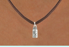 <bR>                      EXCLUSIVELY OURS!!<Br>                AN ALLAN ROBIN DESIGN!!<BR>       CLICK HERE TO SEE 120+ EXCITING<BR>          CHANGES THAT YOU CAN MAKE!<BR>                     LEAD & NICKEL FREE!!<BR>     W1079SN - RX PILL BOTTLE CHARM &<BR>   NECKLACE FROM $4.55 TO $8.00 �2012