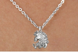 <bR>                      EXCLUSIVELY OURS!!<Br>                AN ALLAN ROBIN DESIGN!!<BR>       CLICK HERE TO SEE 120+ EXCITING<BR>          CHANGES THAT YOU CAN MAKE!<BR>                     LEAD & NICKEL FREE!!<BR>W1140SN - CRYSTAL HORSE CHARM & <BR>CHILDRENS NECKLACE FROM $5.40 TO $9.85 �2012