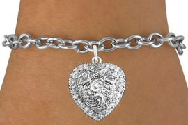 <bR>                   EXCLUSIVELY OURS!!<Br>             AN ALLAN ROBIN DESIGN!!<BR>    CLICK HERE TO SEE 120+ EXCITING<BR>       CHANGES THAT YOU CAN MAKE!<BR>                  LEAD & NICKEL FREE!!<BR>W1142SB - CRYSTAL CROSSED PISTOLS HEART <Br>CHARM & BRACELET FROM $5.40 TO $9.85 �2012