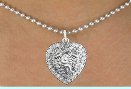 <bR>                      EXCLUSIVELY OURS!!<Br>                AN ALLAN ROBIN DESIGN!!<BR>       CLICK HERE TO SEE 120+ EXCITING<BR>          CHANGES THAT YOU CAN MAKE!<BR>                     LEAD & NICKEL FREE!!<BR>W1142SN - CRYSTAL CROSSED PISTOLS HEART CHARM<BR> & NECKLACE FROM $5.40 TO $9.85 �2012