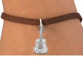 <bR>                   EXCLUSIVELY OURS!!<Br>             AN ALLAN ROBIN DESIGN!!<BR>    CLICK HERE TO SEE 120+ EXCITING<BR>       CHANGES THAT YOU CAN MAKE!<BR>                  LEAD & NICKEL FREE!!<BR>W1169SB - CRYSTAL ACOUSTIC GUITAR <Br>CHARM & BRACELET FROM $5.40 TO $9.85 �2012