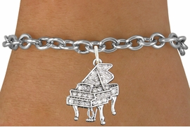 <bR>                   EXCLUSIVELY OURS!!<Br>             AN ALLAN ROBIN DESIGN!!<BR>    CLICK HERE TO SEE 120+ EXCITING<BR>       CHANGES THAT YOU CAN MAKE!<BR>                  LEAD & NICKEL FREE!!<BR>W1170SB - CRYSTAL GRAND PIANO <Br>CHARM & BRACELET FROM $5.40 TO $9.85 �2012