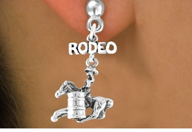 <bR>               EXCLUSIVELY OURS!!<Br>         AN ALLAN ROBIN DESIGN!!<BR>CLICK HERE TO SEE 120+ EXCITING<BR>   CHANGES THAT YOU CAN MAKE!<BR>              LEAD & NICKEL FREE!!<BR>  W610SE - RODEO BARREL RACER<Br>     & EARRINGS FROM $4.50 TO $8.35