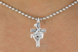<bR>                EXCLUSIVELY OURS!!<Br>          AN ALLAN ROBIN DESIGN!!<BR> CLICK HERE TO SEE 120+ EXCITING<BR>    CHANGES THAT YOU CAN MAKE!<BR>               LEAD & NICKEL FREE!!<BR>W613SN - BUCKIN BRONCO CROSS<BR>      & NECKLACE AS LOW AS $4.50