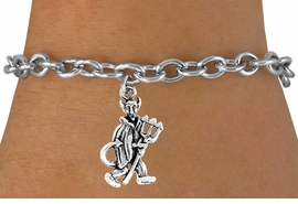 "<bR>               EXCLUSIVELY OURS!!<Br>         AN ALLAN ROBIN DESIGN!!<BR>CLICK HERE TO SEE 120+ EXCITING<BR>   CHANGES THAT YOU CAN MAKE!<BR>              LEAD & NICKEL FREE!!<BR>          W615SB - ""LITTLE DEVIL""<Br>     & BRACELET AS LOW AS $4.50"