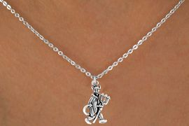 """<bR>               EXCLUSIVELY OURS!!<Br>         AN ALLAN ROBIN DESIGN!!<BR>CLICK HERE TO SEE 120+ EXCITING<BR>   CHANGES THAT YOU CAN MAKE!<BR>              LEAD & NICKEL FREE!!<BR>          W615SN - """"LITTLE DEVIL""""<BR>     & NECKLACE AS LOW AS $4.50"""