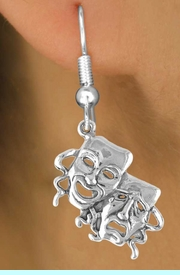 """<bR>               EXCLUSIVELY OURS!!<Br>         AN ALLAN ROBIN DESIGN!!<BR>CLICK HERE TO SEE 120+ EXCITING<BR>   CHANGES THAT YOU CAN MAKE!<BR>              LEAD & NICKEL FREE!!<BR>       W616SE - """"DRAMA MASKS""""<Br>     & EARRINGS FROM $4.50 TO $8.35"""