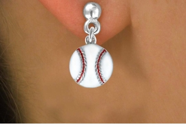 <bR>               EXCLUSIVELY OURS!!<Br>         AN ALLAN ROBIN DESIGN!!<BR>CLICK HERE TO SEE 120+ EXCITING<BR>   CHANGES THAT YOU CAN MAKE!<BR>              LEAD & NICKEL FREE!!<BR>       W617SE - SMALL BASEBALL<Br>     & EARRINGS FROM $4.50 TO $8.35