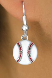 <bR>               EXCLUSIVELY OURS!!<Br>         AN ALLAN ROBIN DESIGN!!<BR>CLICK HERE TO SEE 120+ EXCITING<BR>   CHANGES THAT YOU CAN MAKE!<BR>              LEAD & NICKEL FREE!!<BR>       W617SE - SMALL BASEBALL<Br>     & EARRINGS  $6.35