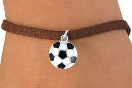 <bR>              EXCLUSIVELY OURS!!<Br>        AN ALLAN ROBIN DESIGN!!<BR>CLICK HERE TO SEE 120+ EXCITING<BR>   CHANGES THAT YOU CAN MAKE!<BR>              LEAD & NICKEL FREE!!<BR>W618SB -  SOCCER BALL  & BRACELET <BR>     FROM AS LOW AS $4.50 TO $8.35