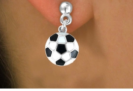 <bR>               EXCLUSIVELY OURS!!<Br>         AN ALLAN ROBIN DESIGN!!<BR>CLICK HERE TO SEE 120+ EXCITING<BR>   CHANGES THAT YOU CAN MAKE!<BR>              LEAD & NICKEL FREE!!<BR>    W618SE - SMALL SOCCER BALL<Br>      & EARRINGS FROM $4.50 TO $8.35