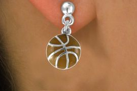 <bR>               EXCLUSIVELY OURS!!<Br>         AN ALLAN ROBIN DESIGN!!<BR>CLICK HERE TO SEE 120+ EXCITING<BR>   CHANGES THAT YOU CAN MAKE!<BR>              LEAD & NICKEL FREE!!<BR>    W619SE - SMALL BASKETBALL<Br>     & EARRINGS FROM $4.50 TO $8.35
