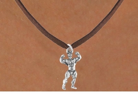 <bR>              EXCLUSIVELY OURS!!<Br>         AN ALLAN ROBIN DESIGN!!<BR>CLICK HERE TO SEE 120+ EXCITING<BR>  CHANGES THAT YOU CAN MAKE!<BR>             LEAD & NICKEL FREE!!<BR>        W626SN - BODYBUILDER<BR>    & NECKLACE AS LOW AS $4.50