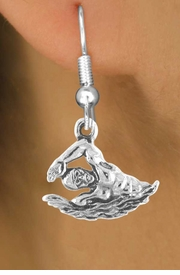 <bR>                EXCLUSIVELY OURS!!<Br>          AN ALLAN ROBIN DESIGN!!<BR> CLICK HERE TO SEE 120+ EXCITING<BR>    CHANGES THAT YOU CAN MAKE!<BR>               LEAD & NICKEL FREE!!<BR>        W627SE - MALE SWIMMER<Br>      & EARRINGS FROM $4.50 TO $8.35