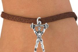<bR>               EXCLUSIVELY OURS!!<Br>         AN ALLAN ROBIN DESIGN!!<BR>CLICK HERE TO SEE 120+ EXCITING<BR>  CHANGES THAT YOU CAN MAKE!<BR>             LEAD & NICKEL FREE!!<BR>         W628SB - WEIGHTLIFTER<Br>     & BRACELET AS LOW AS $4.50