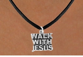 "<bR>              EXCLUSIVELY OURS!!<Br>         AN ALLAN ROBIN DESIGN!!<BR>CLICK HERE TO SEE 120+ EXCITING<BR>  CHANGES THAT YOU CAN MAKE!<BR>             LEAD & NICKEL FREE!!<BR>    W637SN - ""WALK WITH JESUS""<BR>     & NECKLACE AS LOW AS $4.50<BR>                           �2009"