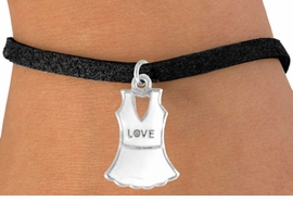 """<bR>              EXCLUSIVELY OURS!!<Br>        AN ALLAN ROBIN DESIGN!!<BR>CLICK HERE TO SEE 120+ EXCITING<BR>  CHANGES THAT YOU CAN MAKE!<BR>             LEAD & NICKEL FREE!!<BR> W644SB - """"LOVE"""" TENNIS DRESS<Br>     & BRACELET AS LOW AS $3.65"""