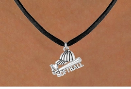 "<bR>              EXCLUSIVELY OURS!!<Br>         AN ALLAN ROBIN DESIGN!!<BR>CLICK HERE TO SEE 120+ EXCITING<BR>  CHANGES THAT YOU CAN MAKE!<BR>             LEAD & NICKEL FREE!!<BR>     W647SN - ""I LOVE SOFTBALL""<BR>     & NECKLACE AS LOW AS $4.05"