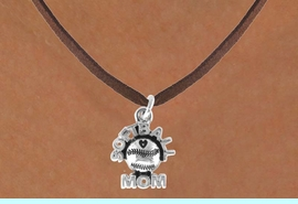 """<bR>              EXCLUSIVELY OURS!!<Br>         AN ALLAN ROBIN DESIGN!!<BR>CLICK HERE TO SEE 120+ EXCITING<BR>   CHANGES THAT YOU CAN MAKE!<BR>             LEAD & NICKEL FREE!!<BR>      W652SN - """"SOFTBALL MOM""""<BR>     & NECKLACE AS LOW AS $4.05"""
