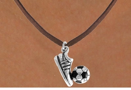 <bR>              EXCLUSIVELY OURS!!<Br>         AN ALLAN ROBIN DESIGN!!<BR>CLICK HERE TO SEE 120+ EXCITING<BR>   CHANGES THAT YOU CAN MAKE!<BR>             LEAD & NICKEL FREE!!<BR>  W655SN - SOCCER BALL & SHOE<BR>     & NECKLACE AS LOW AS $4.05