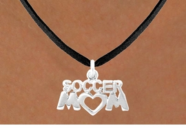 "<bR>              EXCLUSIVELY OURS!!<Br>         AN ALLAN ROBIN DESIGN!!<BR>CLICK HERE TO SEE 120+ EXCITING<BR>   CHANGES THAT YOU CAN MAKE!<BR>             LEAD & NICKEL FREE!!<BR>        W657SN - ""SOCCER MOM""<BR>    & NECKLACE AS LOW AS $4.05"