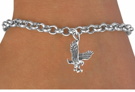 <bR>              EXCLUSIVELY OURS!!<Br>        AN ALLAN ROBIN DESIGN!!<BR>CLICK HERE TO SEE 120+ EXCITING<BR>  CHANGES THAT YOU CAN MAKE!<BR>             LEAD & NICKEL FREE!!<BR>  W658SB -  HAWK, FALCON, EAGLE<Br>     & BRACELET AS LOW AS $3.65