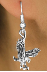 <bR>              EXCLUSIVELY OURS!!<Br>        AN ALLAN ROBIN DESIGN!!<BR>CLICK HERE TO SEE 120+ EXCITING<BR>  CHANGES THAT YOU CAN MAKE!<BR>             LEAD & NICKEL FREE!!<BR>  W658SE -  HAWK, FALCON, EAGLE<Br>     & EARRING AS LOW AS $4.50