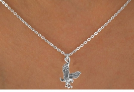 <bR>              EXCLUSIVELY OURS!!<Br>         AN ALLAN ROBIN DESIGN!!<BR>CLICK HERE TO SEE 120+ EXCITING<BR>  CHANGES THAT YOU CAN MAKE!<BR>             LEAD & NICKEL FREE!!<BR>  W658SN -  HAWK, FALCON, EAGLE<Br>        NECKLACE AS LOW AS $4.05