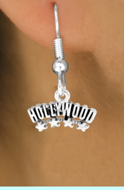 """<bR>               EXCLUSIVELY OURS!!<Br>        AN ALLAN ROBIN DESIGN!!<BR>CLICK HERE TO SEE 120+ EXCITING<BR>   CHANGES THAT YOU CAN MAKE!<BR>              LEAD & NICKEL FREE!!<BR>W659SE -  """"HOLLYWOOD"""" CHARM<Br> & EARRING FROM $4.50 TO $8.35"""