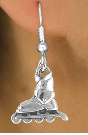 <bR>               EXCLUSIVELY OURS!!<Br>        AN ALLAN ROBIN DESIGN!!<BR>CLICK HERE TO SEE 120+ EXCITING<BR>   CHANGES THAT YOU CAN MAKE!<BR>              LEAD & NICKEL FREE!!<BR> W662SE -  ROLLERBLADE CHARM<Br> & EARRING FROM $4.50 TO $8.35