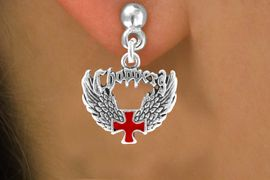 <bR>                 EXCLUSIVELY OURS!!<Br>          AN ALLAN ROBIN DESIGN!!<BR>CLICK HERE TO SEE 120+ EXCITING<BR>   CHANGES THAT YOU CAN MAKE!<BR>              LEAD & NICKEL FREE!!<BR>     W674SE - CHOPPER CROSS &<BR>   WINGS CHARM EARRINGS FROM<Br>                     $4.50 TO $8.35