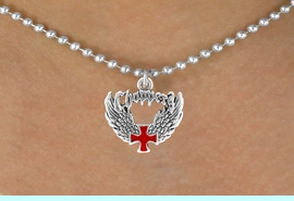 <bR>                 EXCLUSIVELY OURS!!<Br>           AN ALLAN ROBIN DESIGN!!<BR>  CLICK HERE TO SEE 120+ EXCITING<BR>     CHANGES THAT YOU CAN MAKE!<BR>                LEAD & NICKEL FREE!!<BR>        W674SN - CHOPPER CROSS &<BR>     WINGS CHARM NECKLACE FROM<Br>                         $4.50 TO $8.35