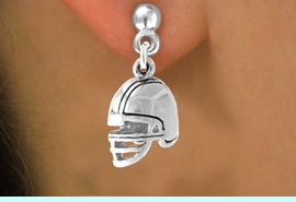 <bR>                EXCLUSIVELY OURS!!<Br>         AN ALLAN ROBIN DESIGN!!<BR>CLICK HERE TO SEE 120+ EXCITING<BR>   CHANGES THAT YOU CAN MAKE!<BR>              LEAD & NICKEL FREE!!<BR>    W677SE - FOOTBALL HELMET &<BR>   EARRINGS FROM $4.50 TO $8.35