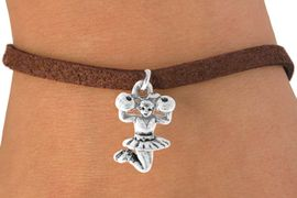 <bR>                EXCLUSIVELY OURS!!<Br>          AN ALLAN ROBIN DESIGN!!<BR> CLICK HERE TO SEE 120+ EXCITING<BR>    CHANGES THAT YOU CAN MAKE!<BR>               LEAD & NICKEL FREE!!<BR> W678SB - CHEERLEADER CHARM &<Br>     BRACELET FROM $4.50 TO $8.35