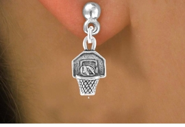 <bR>                EXCLUSIVELY OURS!!<Br>         AN ALLAN ROBIN DESIGN!!<BR>CLICK HERE TO SEE 120+ EXCITING<BR>   CHANGES THAT YOU CAN MAKE!<BR>              LEAD & NICKEL FREE!!<BR>   W680SE - BASKETBALL HOOP &<BR>   EARRINGS FROM $4.50 TO $8.35