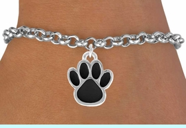 <bR>               EXCLUSIVELY OURS!!<Br>         AN ALLAN ROBIN DESIGN!!<BR>CLICK HERE TO SEE 120+ EXCITING<BR>   CHANGES THAT YOU CAN MAKE!<BR>              LEAD & NICKEL FREE!!<BR>   W685SB - LARGE BLACK PAW &<Br>   BRACELET FROM $4.50 TO $8.35