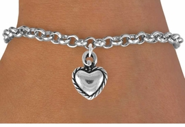 <bR>               EXCLUSIVELY OURS!!<Br>         AN ALLAN ROBIN DESIGN!!<BR>CLICK HERE TO SEE 120+ EXCITING<BR>   CHANGES THAT YOU CAN MAKE!<BR>              LEAD & NICKEL FREE!!<BR> W690SB - LACE TRIMMED HEART<Br>   BRACELET FROM $4.50 TO $8.35