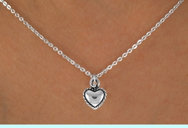<bR>                 EXCLUSIVELY OURS!!<Br>           AN ALLAN ROBIN DESIGN!!<BR>  CLICK HERE TO SEE 120+ EXCITING<BR>     CHANGES THAT YOU CAN MAKE!<BR>                LEAD & NICKEL FREE!!<BR> W690SN - LACE TRIMMED HEART &<BR>     NECKLACE FROM $4.50 TO $8.35