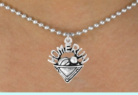 """<bR>                 EXCLUSIVELY OURS!!<Br>           AN ALLAN ROBIN DESIGN!!<BR>  CLICK HERE TO SEE 120+ EXCITING<BR>     CHANGES THAT YOU CAN MAKE!<BR>                LEAD & NICKEL FREE!!<BR>    W701SN - """"HOME RUN"""" PLATE &<BR>    NECKLACE FROM $4.50 TO $8.35"""