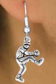 <bR>                 EXCLUSIVELY OURS!!<Br>           AN ALLAN ROBIN DESIGN!!<BR>  CLICK HERE TO SEE 120+ EXCITING<BR>    CHANGES THAT YOU CAN MAKE!<BR>               LEAD & NICKEL FREE!!<BR>    W702SE - BASEBALL/SOFTBALL<BR>PITCHER CHARM & EARRINGS FROM<bR>                      $4.50 TO $8.35