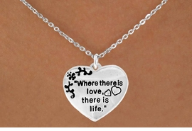 "<bR>                EXCLUSIVELY OURS!!<Br>          AN ALLAN ROBIN DESIGN!!<BR> CLICK HERE TO SEE 120+ EXCITING<BR>    CHANGES THAT YOU CAN MAKE!<BR>               LEAD & NICKEL FREE!!<BR>W704SN - ""WHERE THERE IS LOVE""<BR>          HEART & NECKLACE FROM<bR>                      $4.50 TO $8.35"